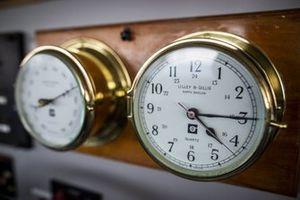 Clocks in the St Helena Bridge