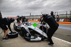 Nyck de Vries, Mercedes-Benz EQ, EQ Silver Arrow 02, in the pits