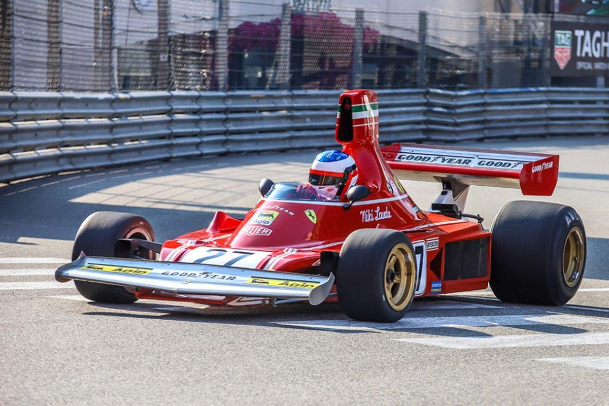 Jean Alesi, 1974 Ferrari 312 B3