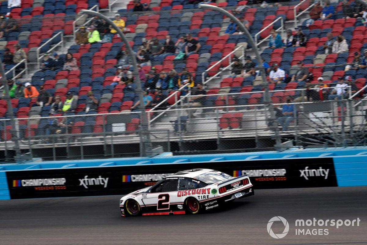 2. Brad Keselowski (Penske-Ford) mit P2 im Rennen