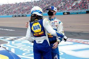 Chase Elliott, Hendrick Motorsports, Chevrolet Camaro NAPA Auto Parts Championship Celebration