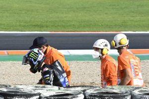 Maverick Vinales, Yamaha Factory Racing crash
