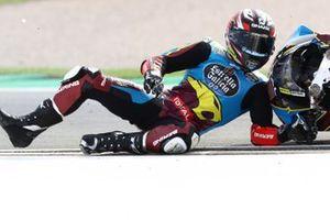 Sam Lowes, Marc VDS Racing crash