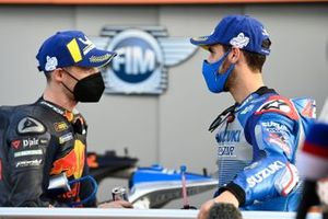 Pol Espargaro, Red Bull KTM Factory Racing, Alex Rins, Team Suzuki MotoGP