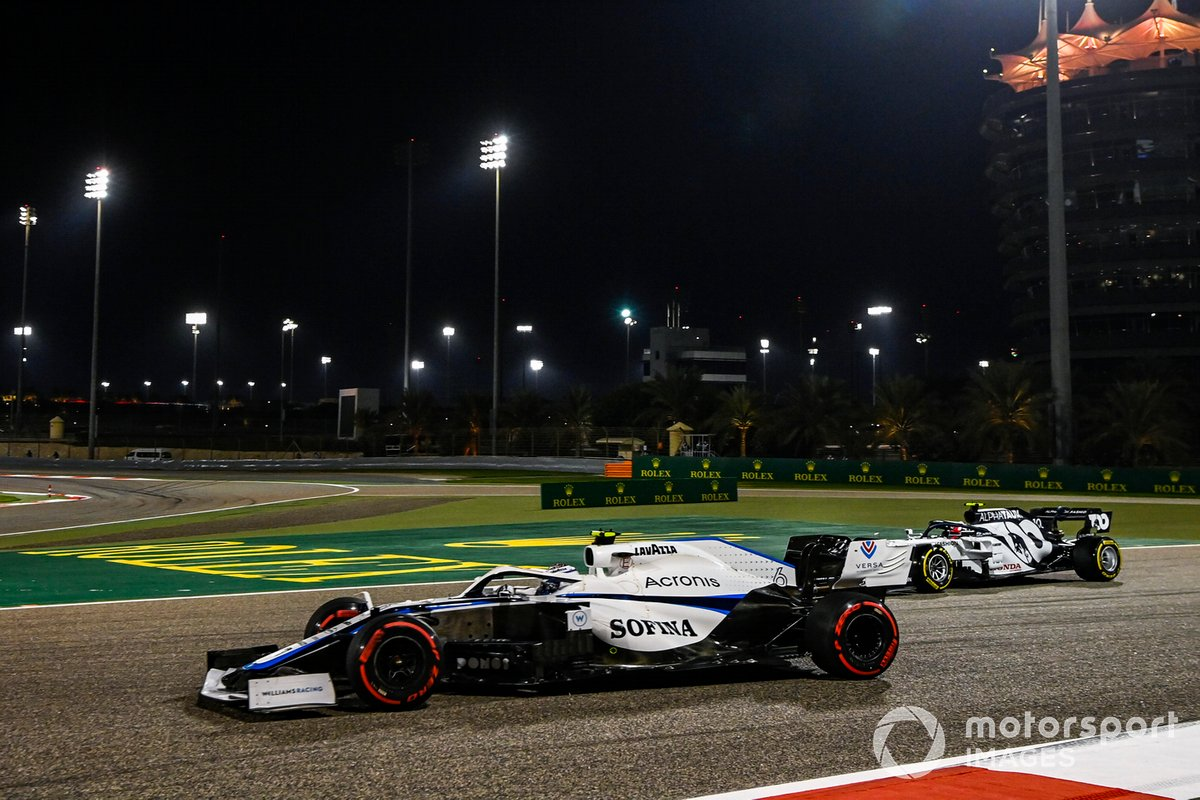 Nicholas Latifi, Williams FW43, Pierre Gasly, AlphaTauri AT01