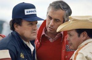 A.J.Foyt, Roger Penske y Lloyd Ruby