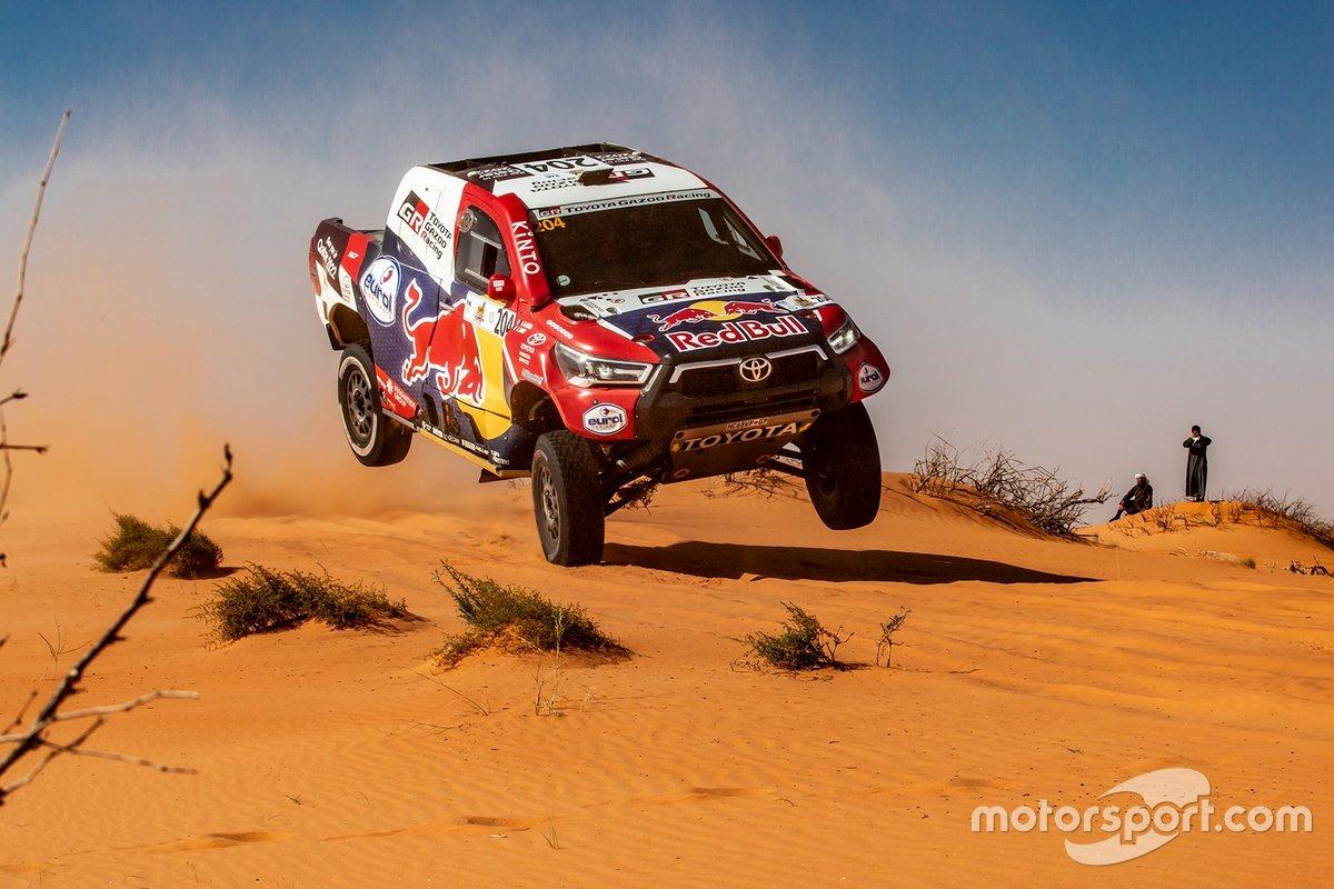 Nasser Al Attiyah, Mathieu Baumel, Toyota Gazoo Racing