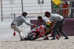 Chute de Sergio Garcia, Aspar Team Moto3