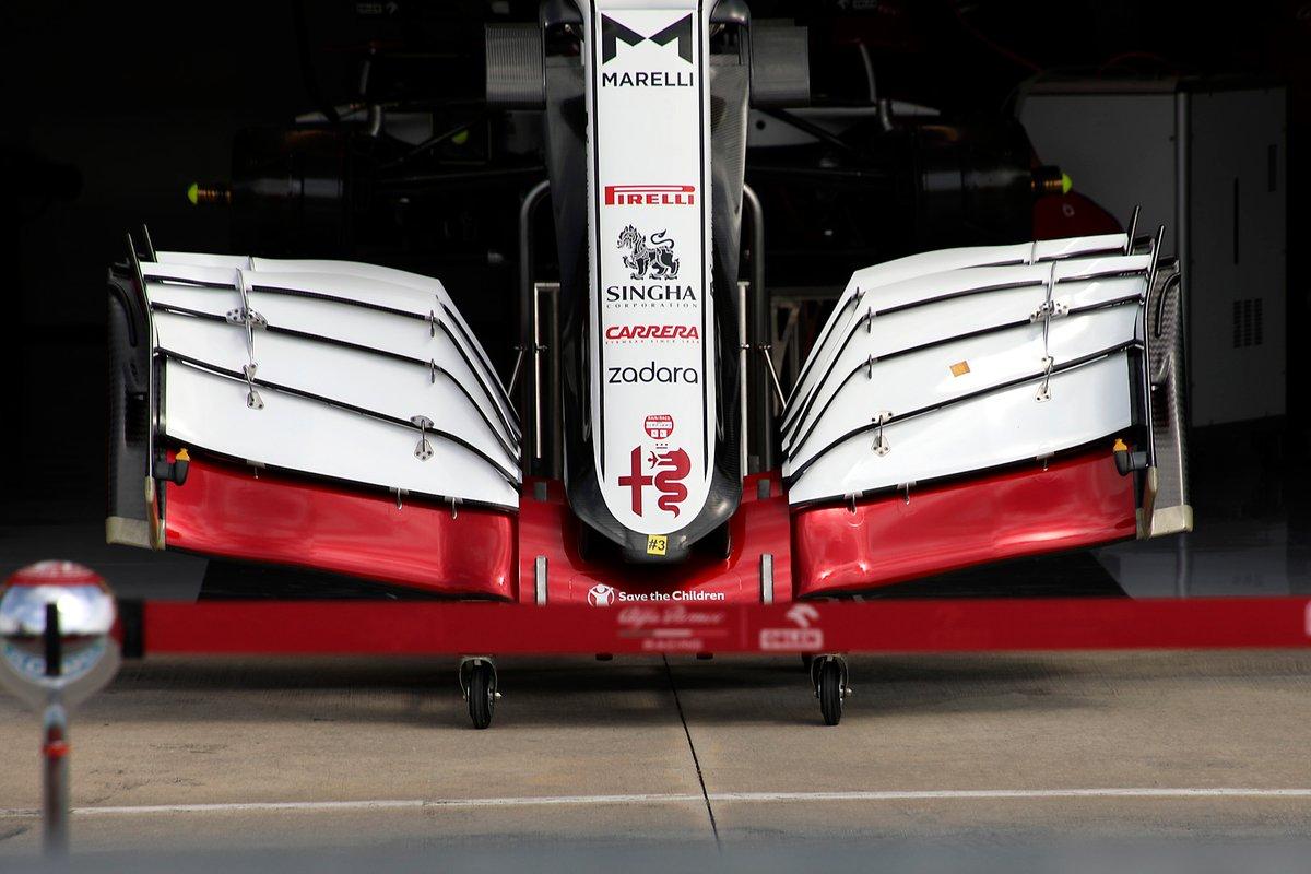 Alerón delantero Alfa Romeo Racing C41