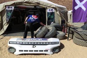 Les stands de Chip Ganassi Racing