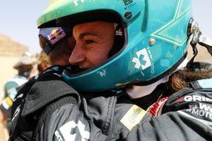 Molly Taylor, Rosberg X Racing, célèbre dans le parc fermé