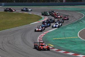 Arrancada #26 G-Drive Racing Aurus 01 - Gibson: Roman Rusinov, Franco Colapinto, Nyck De Vries leads