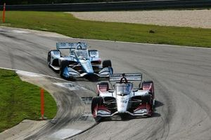 Takuma Sato, Rahal Letterman Lanigan Racing Honda, Scott McLaughlin, Team Penske Chevrolet
