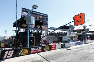 Boxenplatz: Martin Truex Jr., Joe Gibbs Racing
