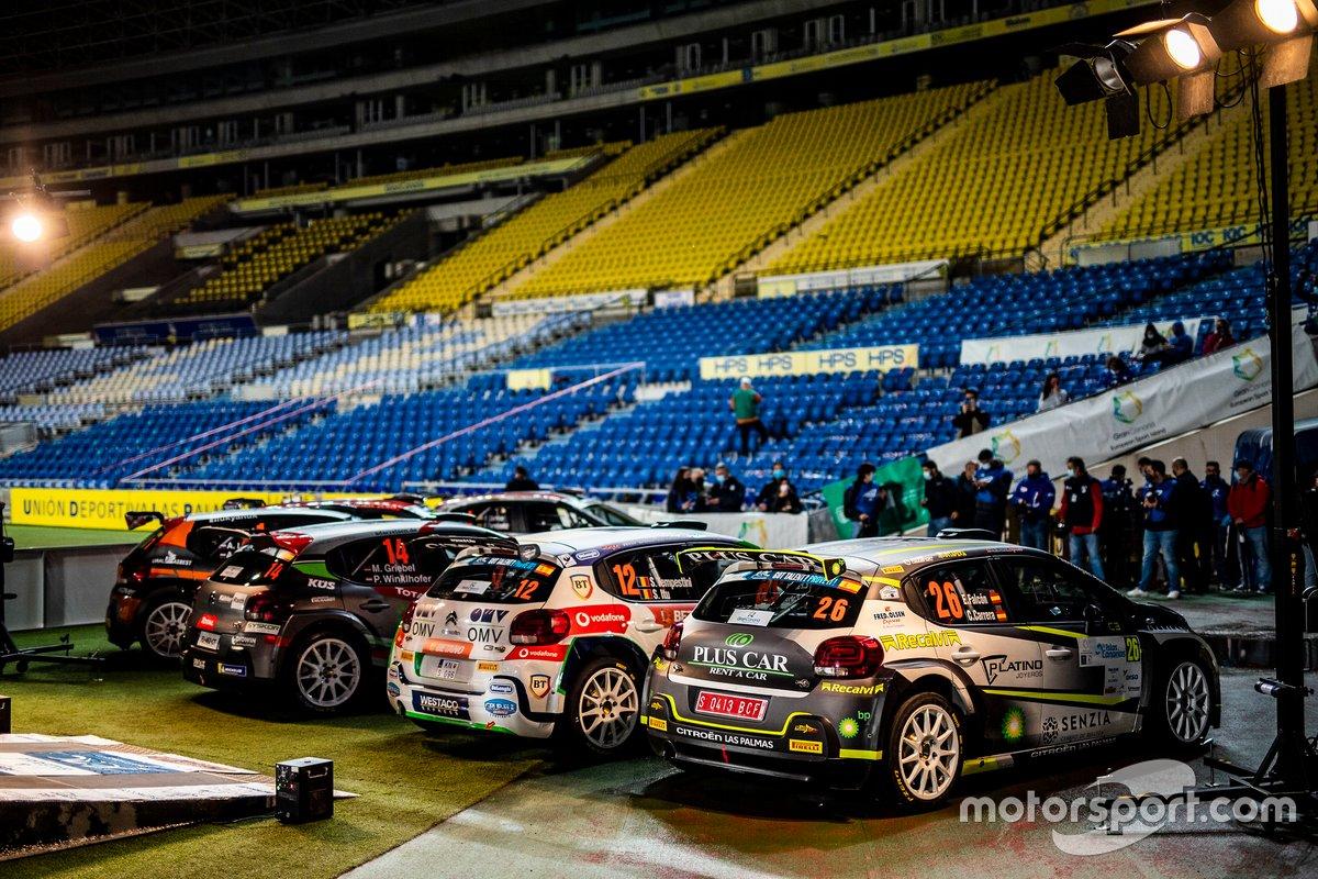 Ambiente del Rally Islas Canarias