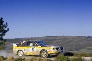 Walter Rohrl, Christian Geistdorfer, Audi Sport Quattro