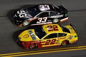 Joey Logano, Team Penske, Ford Mustang Shell Pennzoil Austin Cindric, Team Penske, Ford Mustang Verizon 5G