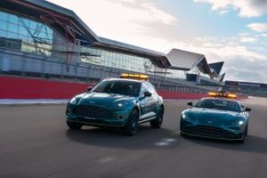 Aston Martin, Safety Car e Medical Car ufficiali della Formula 1