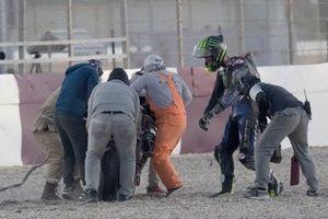 Cal Crutchlow, Yamaha Factory Racing crash