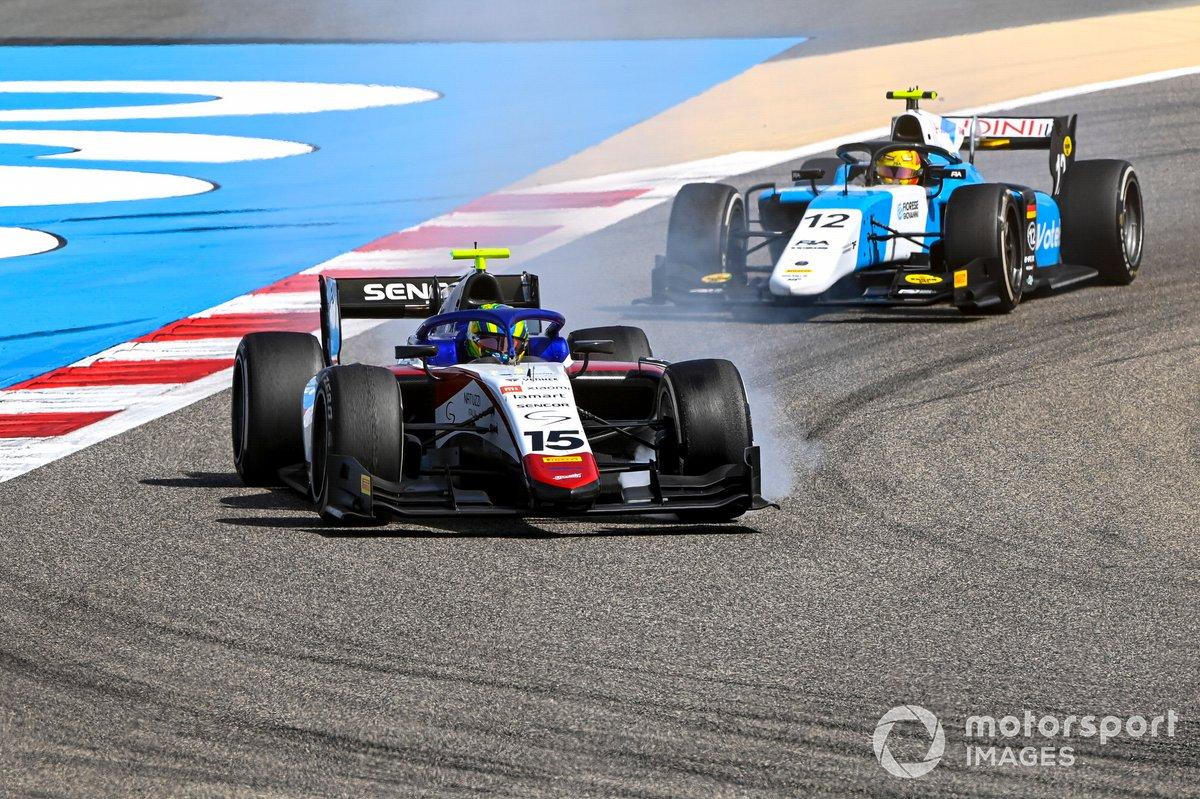 Guilherme Samaia, Charouz Racing System y Lirim Zendeli, MP Motorsport