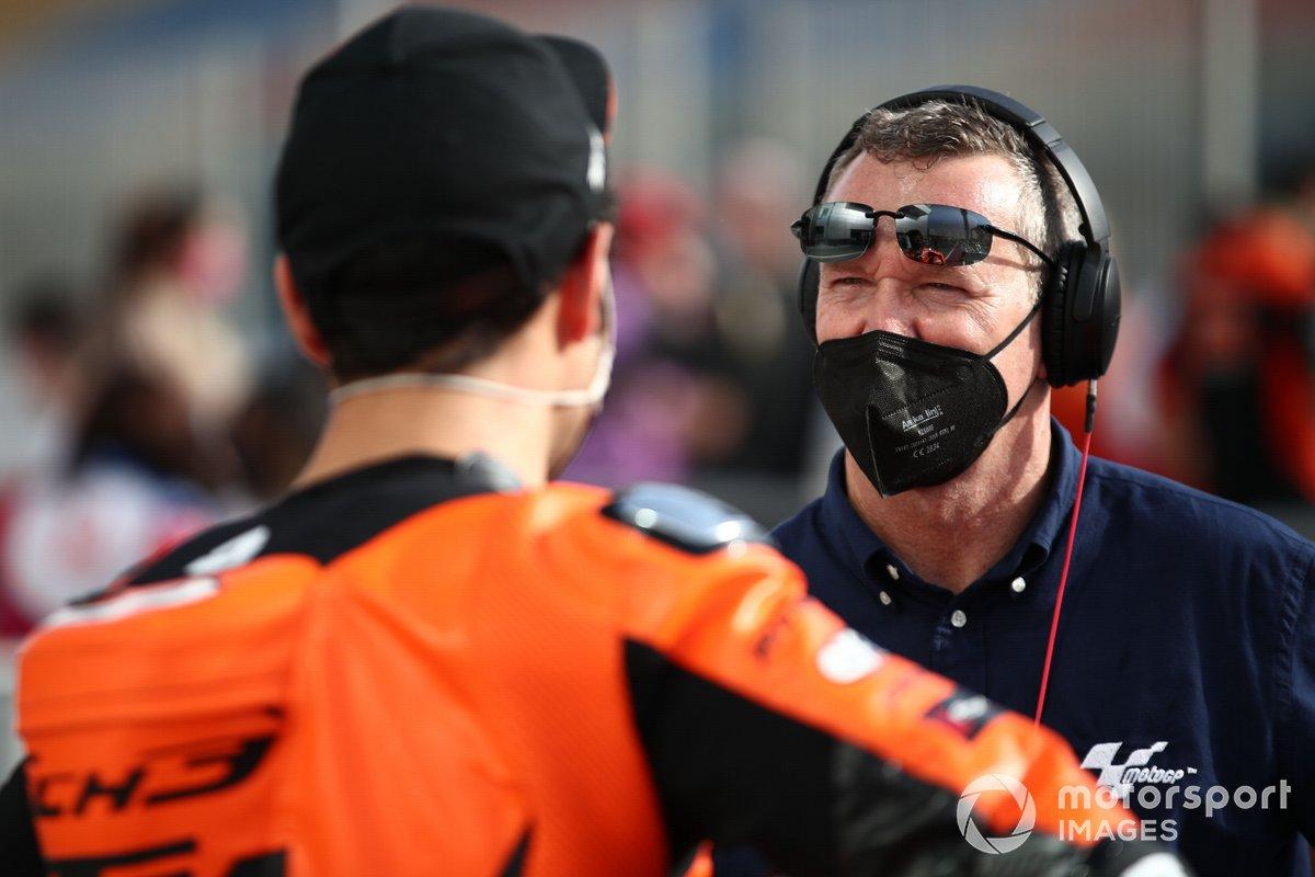 Simon Crafer, comentarista de MotoGP