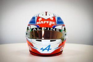 Helmet of Esteban Ocon, Alpine F1 Team