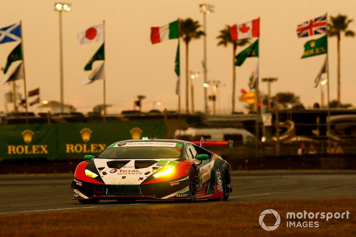 #1 Paul Miller Racing Lamborghini Huracan GT3, GTD: Andrea Caldarelli, Madison Snow, Bryan Sellers, Corey Lewis