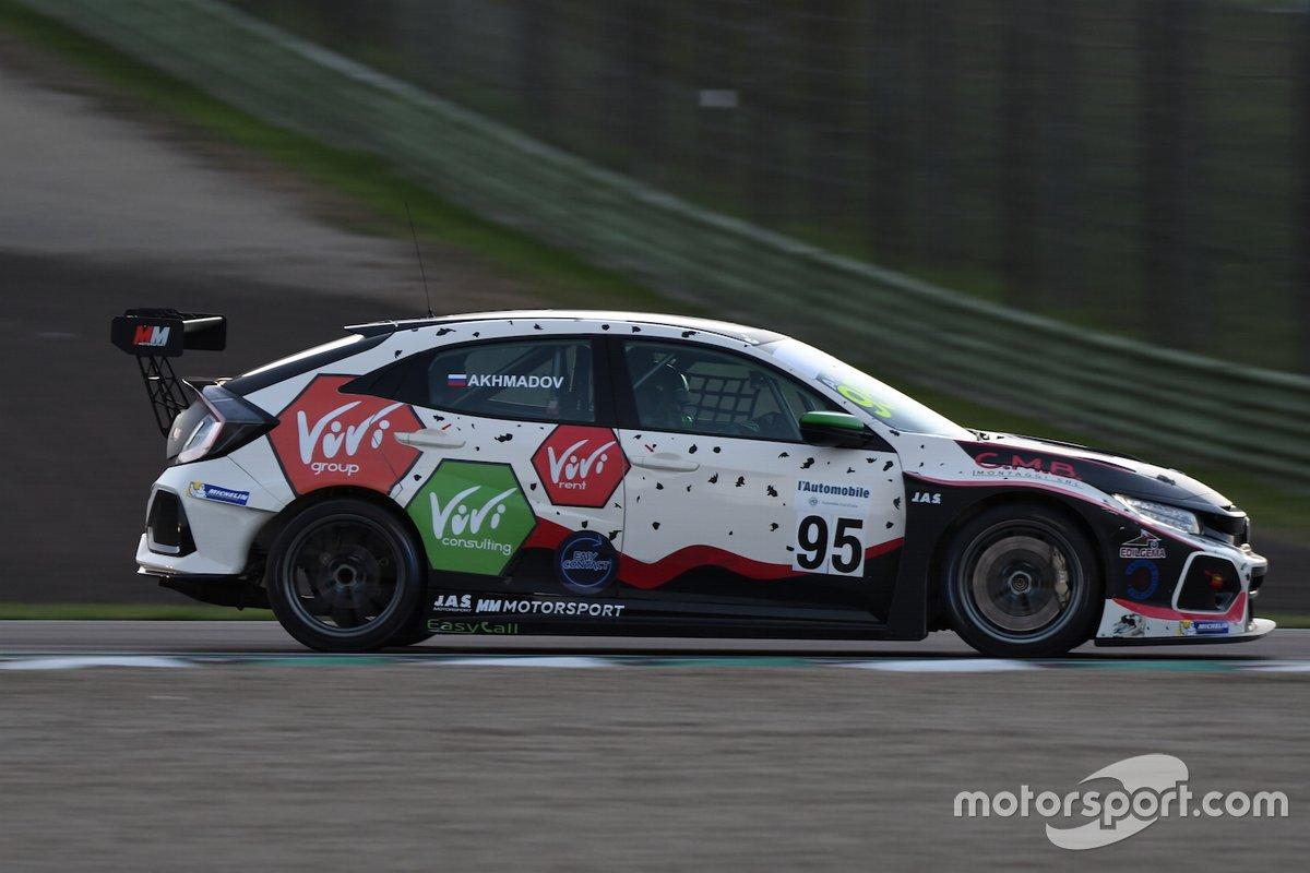 Ibragim Akhmadov, MM Motorsport, Honda Civic FK7 TCR