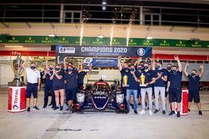 LMP2-Champions der WEC 2019/20: #22 United Autosports Oreca 07: Philip Hanson, Filipe Albuquerque, Paul Di Resta