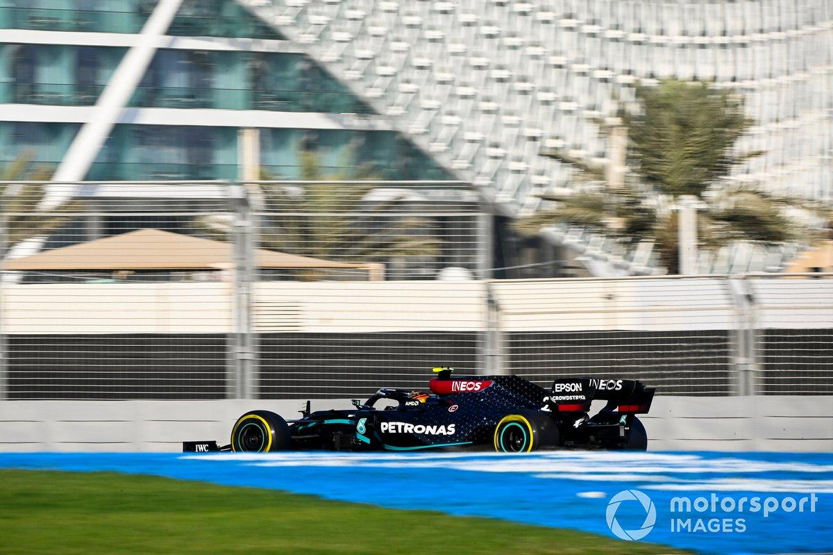 Nyck de Vries, Mercedes F1 W11