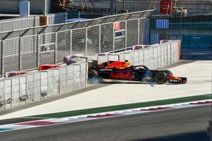Себастьен Буэми, Red Bull Racing RB16, авария