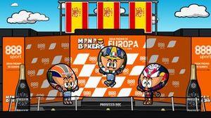 El GP de Europa de MotoGP según MiniBIkers