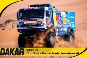 Cover Video Dakar :7° Tappa Sotnikov e Kamaz