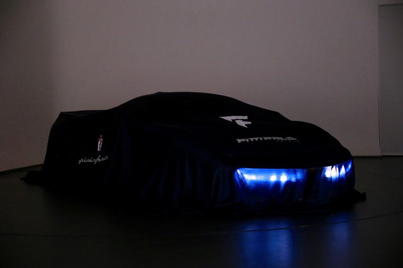 Fittipaldi EF7 Vision Gran Turismo by Pininfarina в чехле