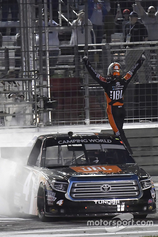 1. Christopher Bell, Kyle Busch Motorsports, Toyota