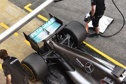Mercedes F1 W08 rear detail