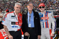 Leonard Wood; Glen Wood; Ryan Blaney, Wood Brothers Racing, Ford