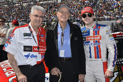 Glen Wood, Leonard Wood, Ryan Blaney, Wood Brothers Racing Ford
