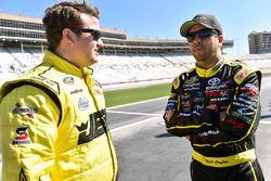 Matt Crafton, ThorSport Racing Toyota and Cody Coughlin, ThorSport Racing Toyota