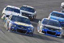 Chase Elliott, Hendrick Motorsports Chevrolet, Ryan Newman, Richard Childress Racing Chevrolet
