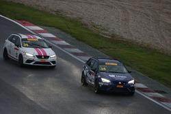 Nicolò Liana, Seat Motor Sport Italia, Seat Leon Cupra ST-TCS2.0; Alessandra Brena, Seat Motor Sport
