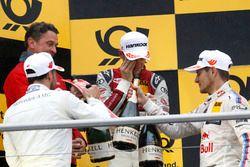 Podium: Gary Paffett Mercedes-AMG Team HWA, Mercedes-AMG C63 DTM, Jamie Green, Audi Sport Team Rosbe
