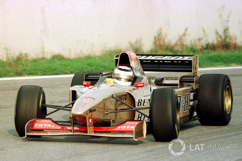 Nigel Mansell, Jordan, 1996