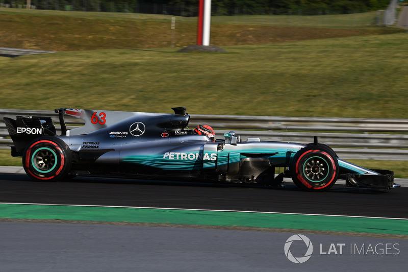 Джордж Рассел, Mercedes-Benz F1 W08