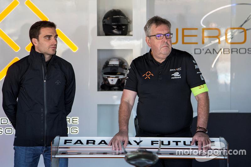 Jérôme d'Ambrosio, Nigel Beresford, Faraday Future Dragon Racing