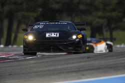 #24 Reiter Engineering, Lamborghini Gallardo R-EX: Marko Helistekangas, Caitlin Wood