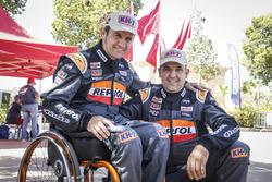 Isidre Esteve, Txema Villalobos; Repsol Rally Team