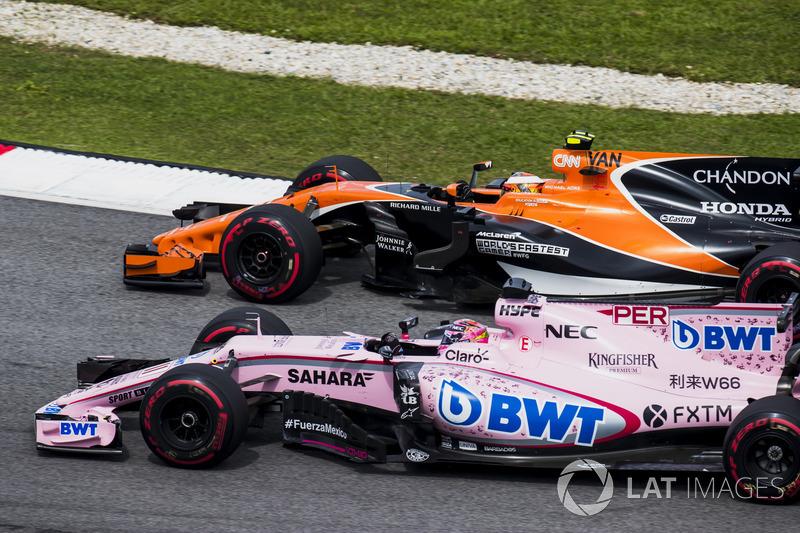 6th : Sergio Pérez (Force India)