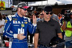 Dale Earnhardt Jr., Hendrick Motorsports Chevrolet, mit Jeff Gordon