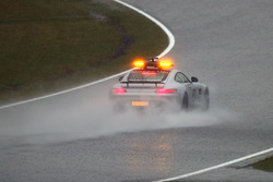 Safety car in the rain